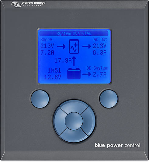 Blue Power Panel